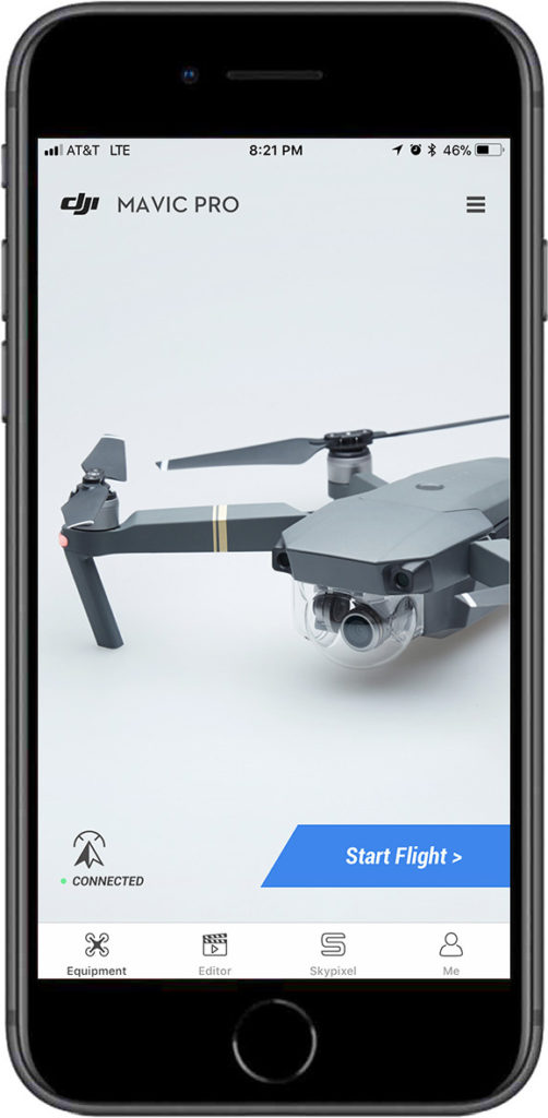 DJI Go4 Splash Screen