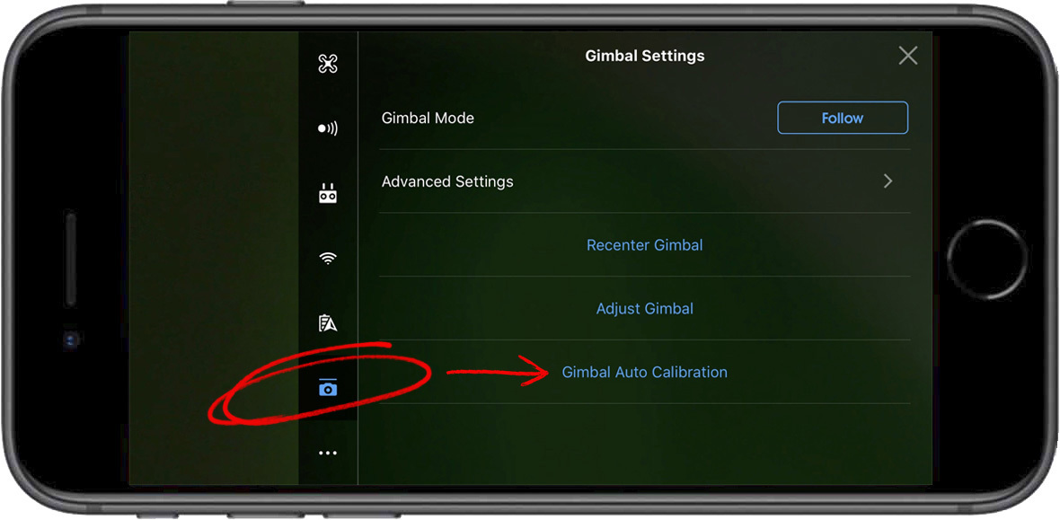Gimbal Settings